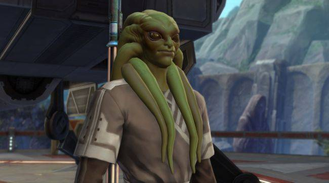 Star Wars: The Old Republic finally lets you be Kit Fisto