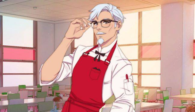 The Colonel Sanders dating sim was one of Steam's biggest releases for September