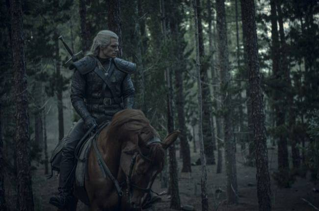 Check out some new images from The Witcher series on Netflix