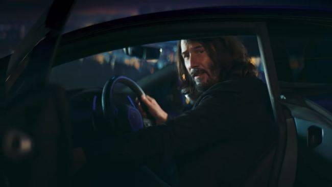 Cyberpunk 2077 brings out Keanu Reeves for a new advert