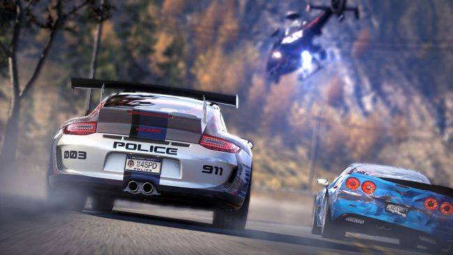 Need for Speed is counting down to something, probably Hot Pursuit remastered