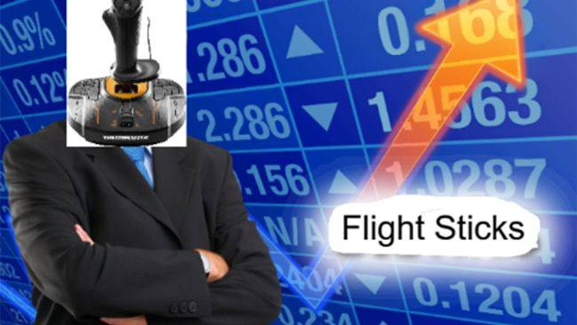 Thanks to Star Wars: Squadrons and Flight Sim the price of flight sticks is ridiculous right now