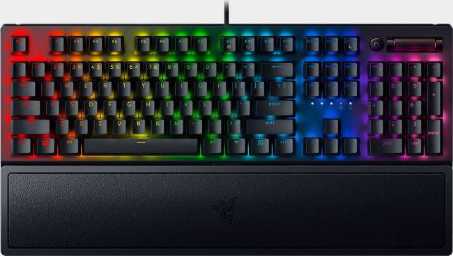 Razer's BlackWidow keyboard returns with tougher keycaps and brighter lights