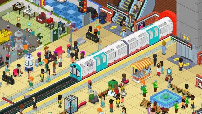 Upbeat tube station management sim Overcrowd has left Early Access