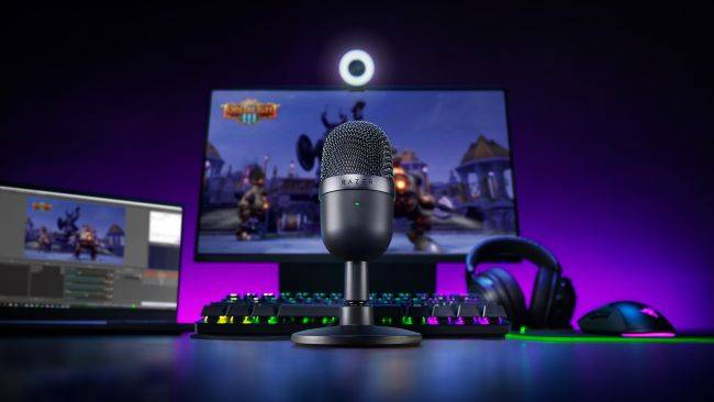 Razer's new pill-shaped Seiren Mini microphone is only $50