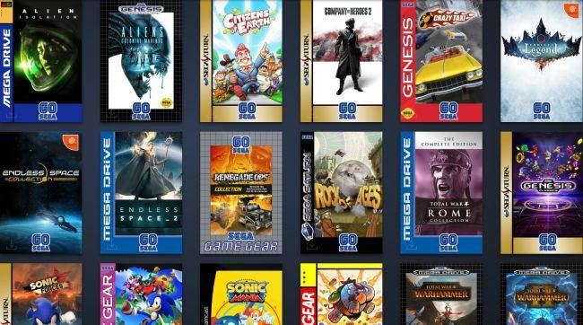 Sega is having a 60th birthday Steam sale, and changing the cover art of their games