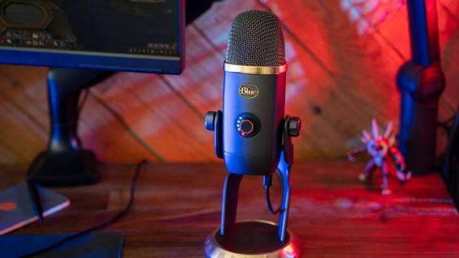 Blue launches new Yeti X mic that both looks and sounds like it's from the World of Warcraft universe