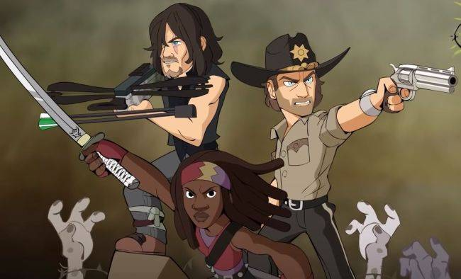 Characters from The Walking Dead join Brawlhalla