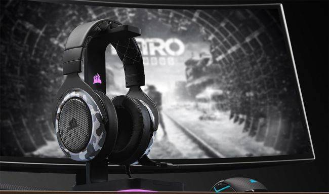 Corsair's latest headset dances on your dome with haptic feedback