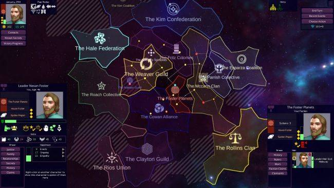 Test out some space feudalism in the Star Dynasties demo
