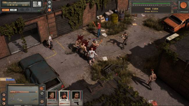 Urban Strife sounds like Jagged Alliance 2, but it's infested with zombies