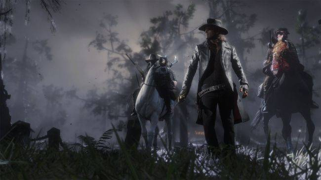 Red Dead Online's Halloween event has shades of Undead Nightmare