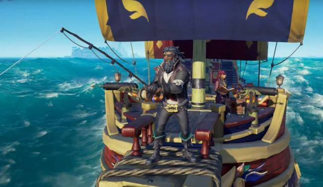 This sightless Sea Of Thieves captain sails with the help of callouts and hurdy-gurdies