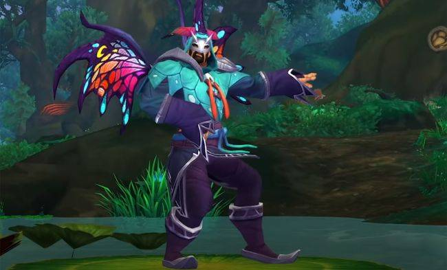 World of Warcraft players won't stop making fun of its new cash shop fairy armor