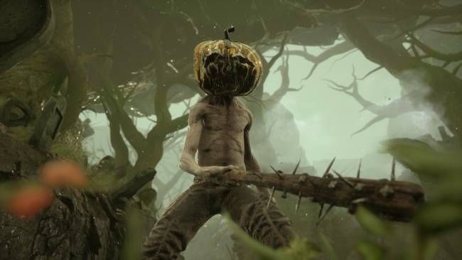 Mortal Shell's free update has pumpkin hats and black metal by Rotting Christ