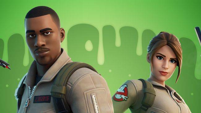 Fortnite calls the Ghostbusters in for several new skins