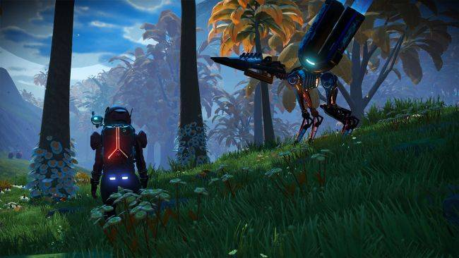 No Man's Sky spruces up its visuals in the Next Generation update