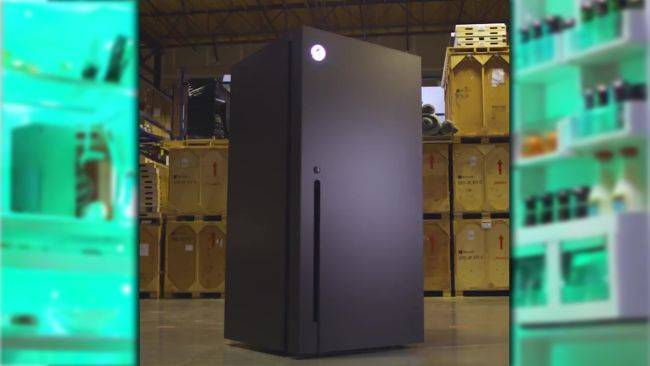 This Xbox Series X refrigerator is a 'prize' that you can 'win'