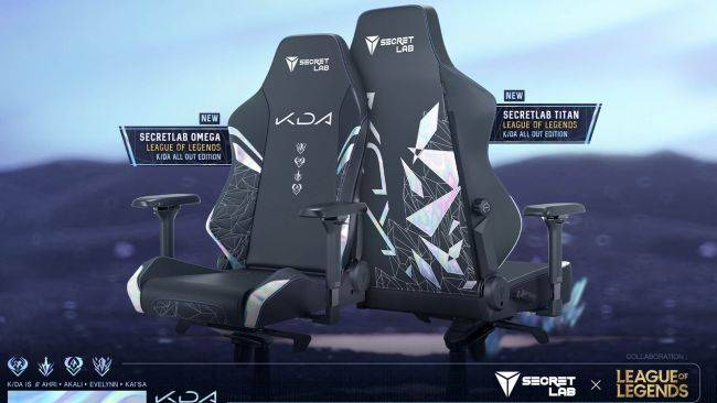 K/DA has conquered League of Legends, K-pop, and now gaming chairs