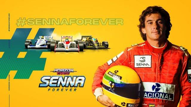 Senna Forever Expansion is Available now in Horizon Chase Turbo