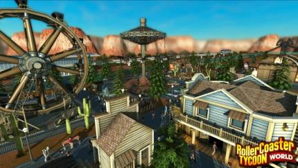 Roller Coaster Tycoon World Recaptures The Magic Of Visiting A Theme Park
