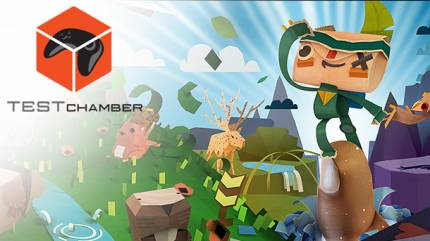 Test Chamber – Tearaway Unfolded