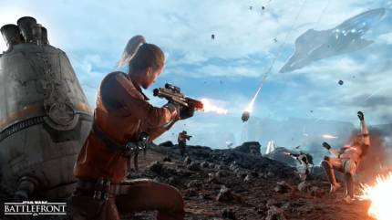 Star Wars: Battlefront's Drop Zone Mode Pits Teams Of Eight In A Race To Capture Objectives