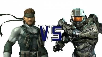 Video Game Hero Beatdown: Solid Snake Vs. Master Chief