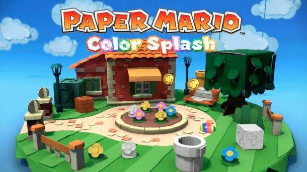 Paper Mario: Color Splash Gets A Splashy New Trailer