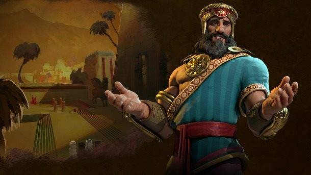 Gilgamesh Leads Sumeria With A Huge Beard And Heart