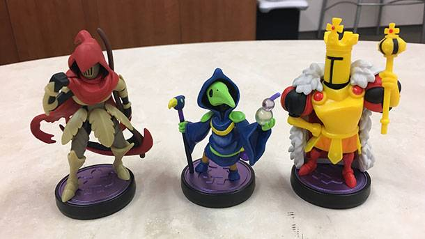 Here's A Look At Shovel Knight's Order Of No Quarter Amiibo Three-Pack