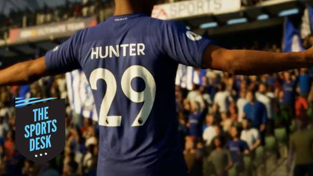 The Sports Desk – Setting The Stage For Alex Hunter's Return In FIFA 18