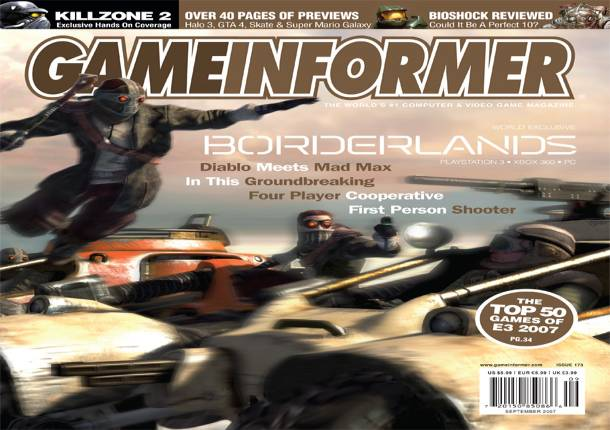 See How Much Borderlands Changed By Reading Our Original 2007 Cover Story
