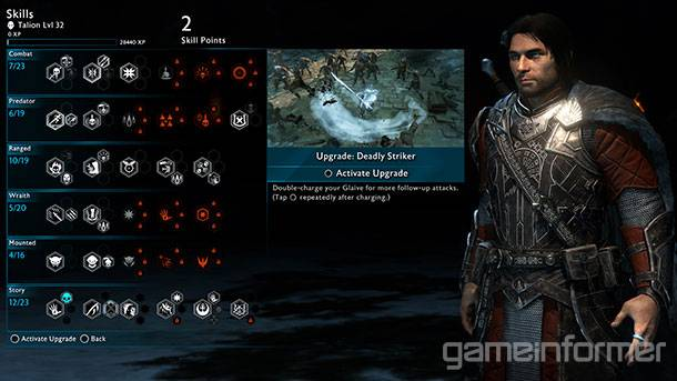 An In-Depth Look At Middle-earth: Shadow Of War's Skill Tree