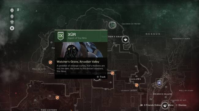 Destiny 2 – Xur's Gear Rewards For The Weekend Of September 15