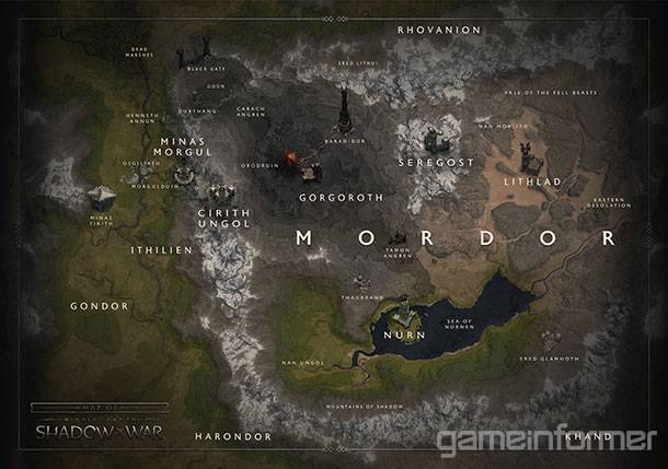Touring The Massive Regions Of Shadow Of War