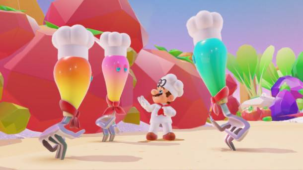 See How Nintendo Is Embracing The Weird In Super Mario Odyssey