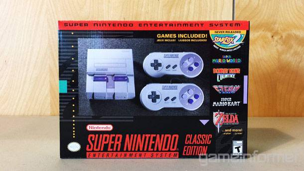 We Get Up-Close With The SNES Classic Edition