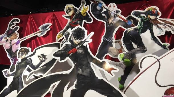 TGS Sidequest – The Persona 5 Exhibit In Akihabara