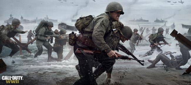 Four new Call of Duty: WWII trailers introduce the squad
