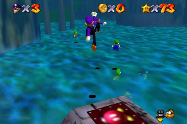 'Super Mario 64' is an online multiplayer thanks to hero modders