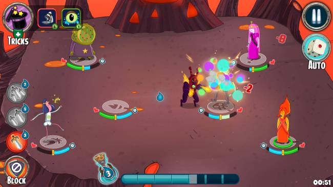 'Adventure Time' role-playing battles come to your smartphone
