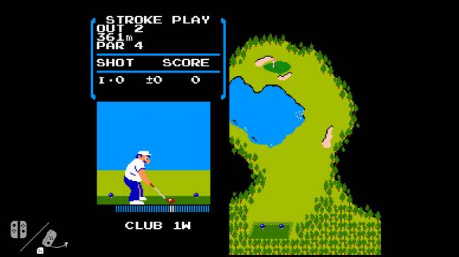 Nintendo Switch carries a copy of NES 'Golf,' enthusiasts find