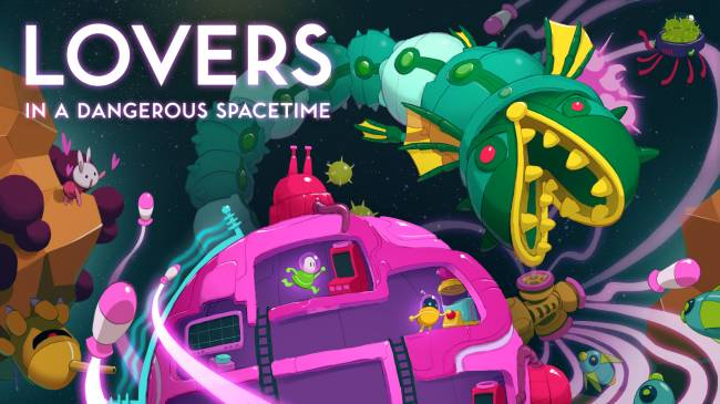 'Lovers in a Dangerous Spacetime' lands on Nintendo Switch