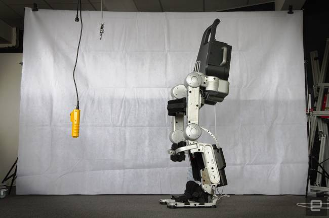 Wandercraft's exoskeleton was made to help paraplegics walk