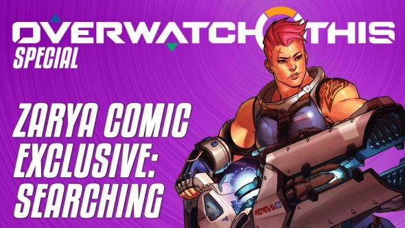 Zarya's Overwatch comic, Searching, is out this week - it's a direct sequel to the Sombra short