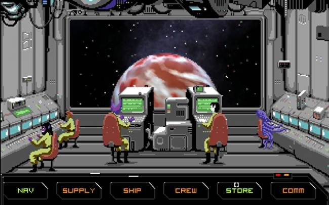 Hyperspace Delivery Service enters early access and looks like ALL the DOS space adventures