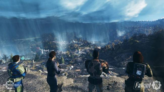 Fallout 76's Post-Nuclear Virginia Is Called Appalachia, and It Has a Guitar Sword
