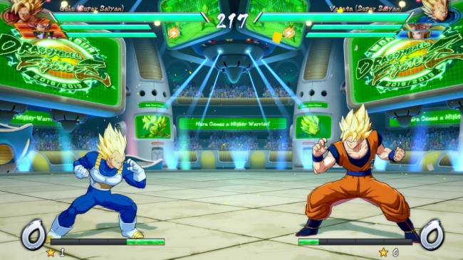 Dragon Ball FighterZ's Galactic Arena Stage Gets New Screenshots
