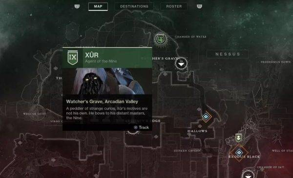 Destiny 2: Xur location and inventory, September 21-24